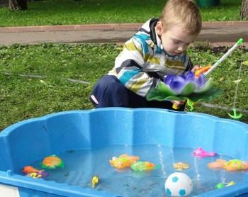 Игры с водой для ребенка