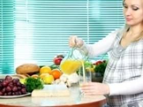 Соки во время беременности