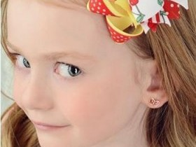 Сережки для девочек