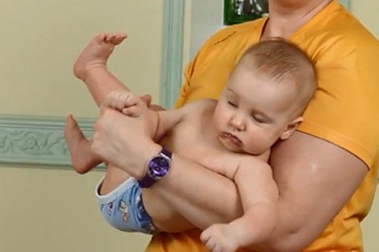 Детская гимнастика - скручивание