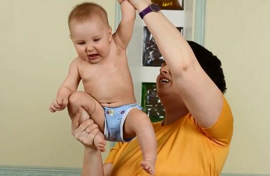 Упражнения - подвывих плеча