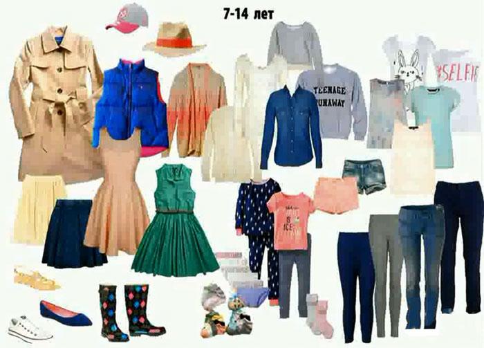 Одежда для девочки 7-14 лет