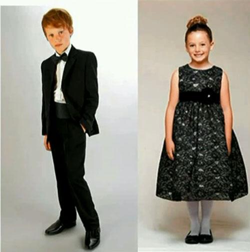 Церемониальный стиль детской одежды