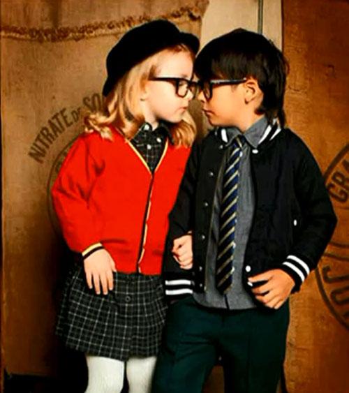 Клубный стиль детской одежды