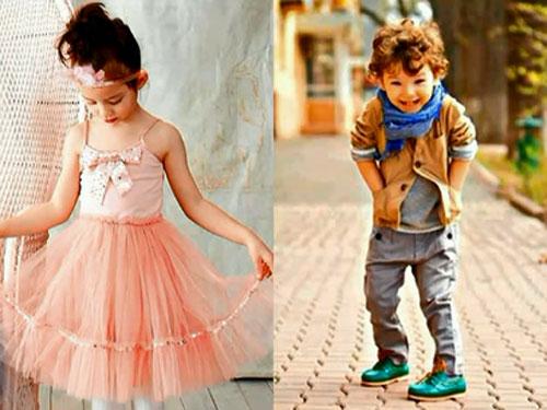 романтичный стиль детской одежды