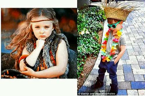 Этнический стиль детской одежды