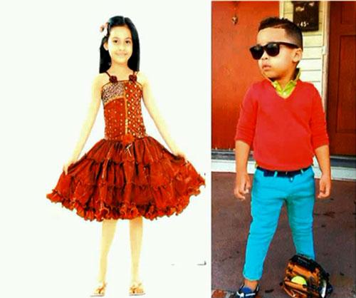 Испанский стиль детской одежды