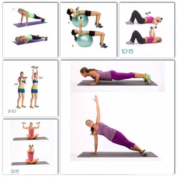Упражнения для восстановления груди