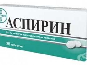 Аспирин при лактации