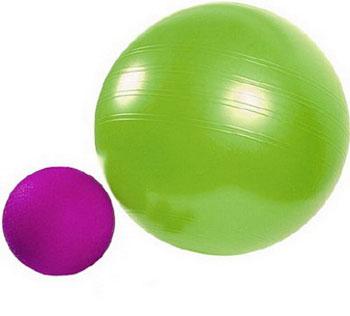 Мячики большой и маленький