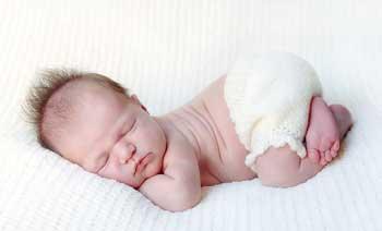 Ребенок 1 месяц спит