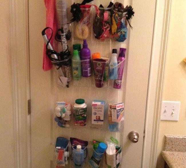 Хранение вещей в ванной