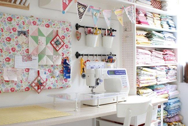 Хранение предметов для шитья