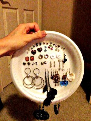 Лайфхак: как хранить сережки