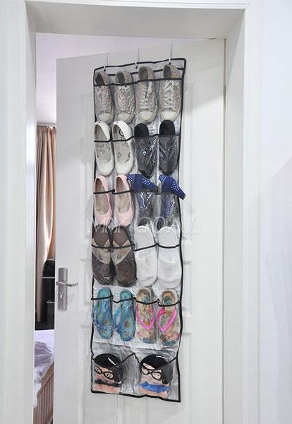 Хранение обуви на двери - органайзер