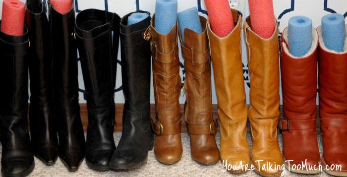 Правильно храним сезонную обувь