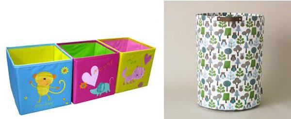Напольные контейнеры для игрушек