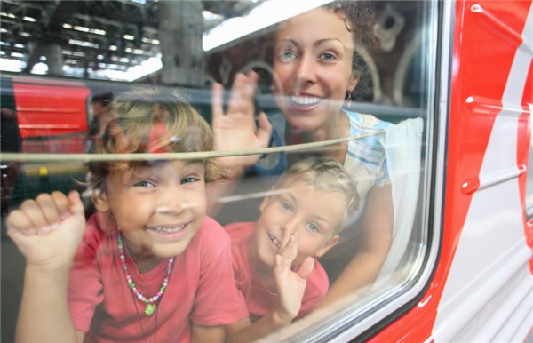 Игры в поезде с детьми