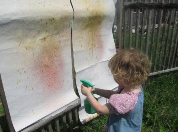 Творчество с красками