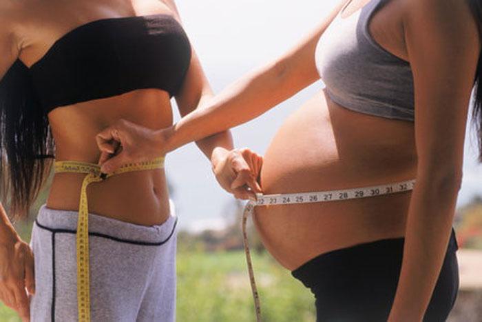 Похудеть во время беременности