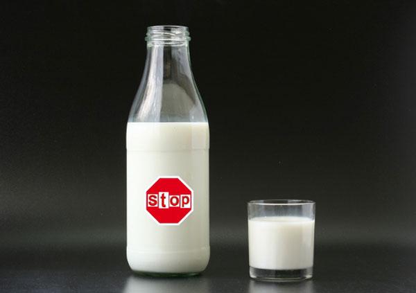 Вред от молока