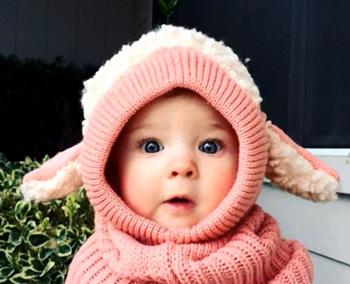 Раздражители кожи ребенка - шерстяная одежда
