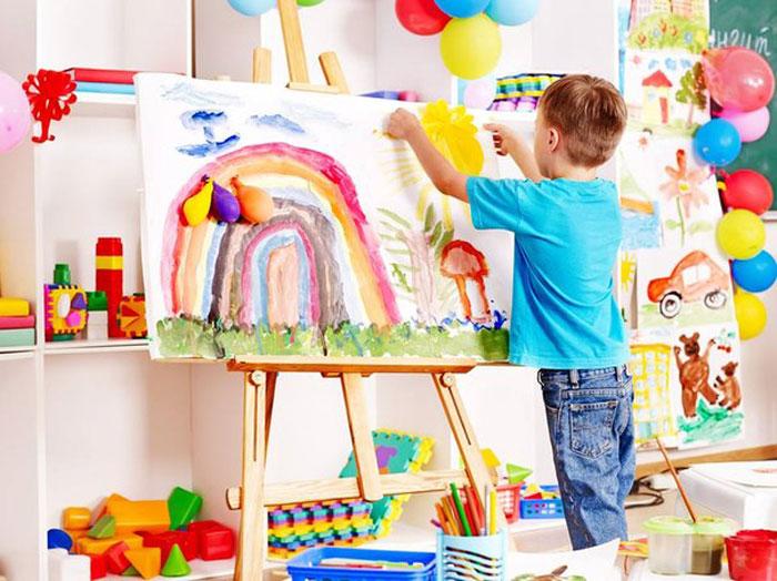 Приобщение ребенка к рисованию