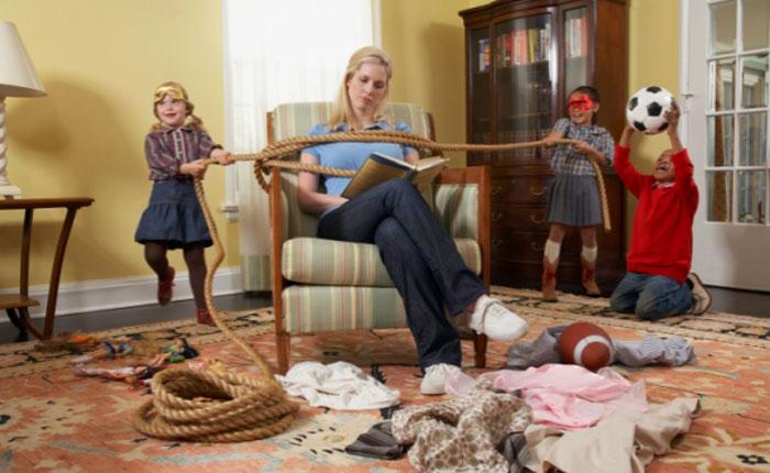 Дети: борьба за внимание мамы