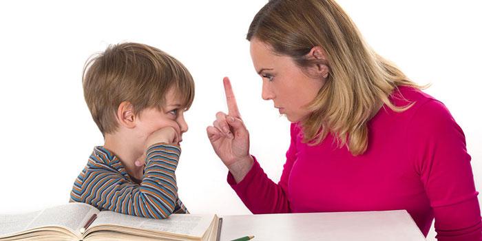 Родитель устанавливает свои правила для ребенка