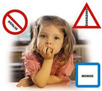 Границы дозволенного для ребенка