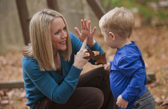 Невербальное общение с ребенком