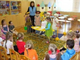 Занятия в детском саду. Ч.8