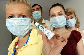 Оксолин при гриппе
