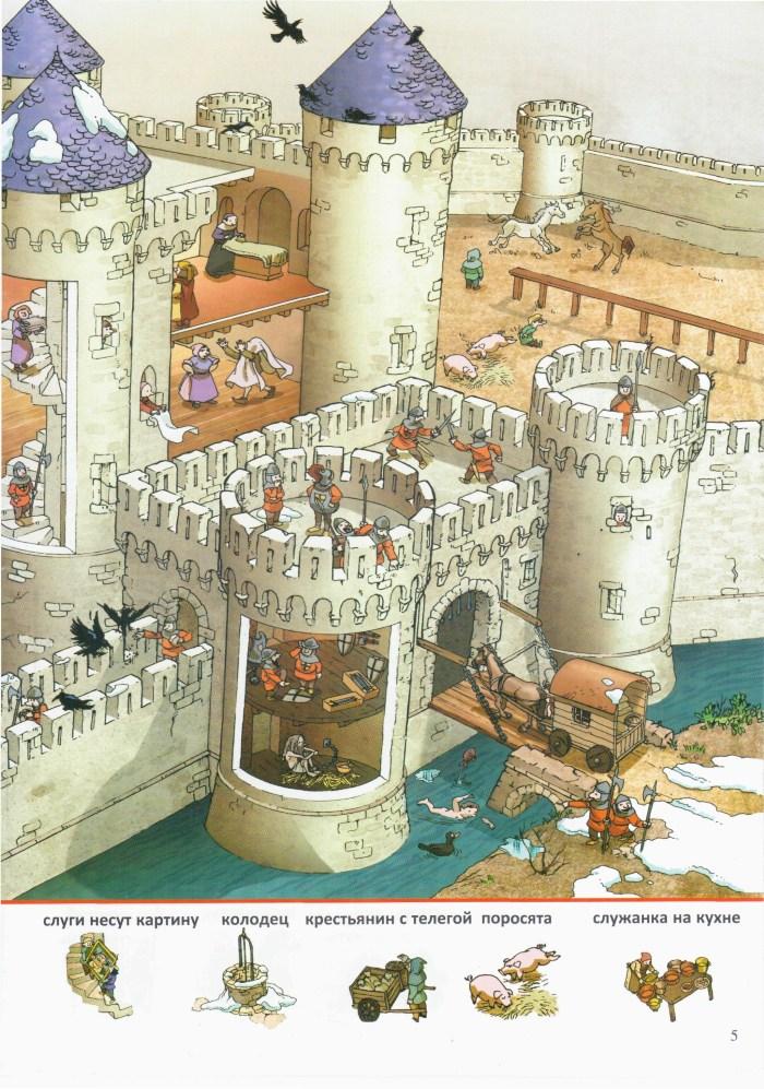 Детская книжка В замке 5