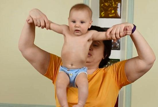 Динамическая гимнастика: Крестик