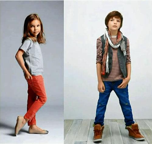 Casual спортивный стиль детской одежды