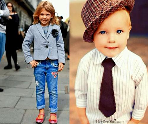 Стиль детской одежды Денди