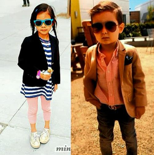 Fusion стиль детской одежды