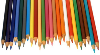 Рисуем карандашами