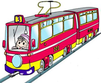 Детский трамвай