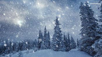 Идет снег