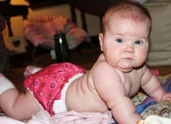 Девочка 4 месяца