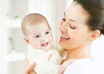 Малыш 4 месяца и мама