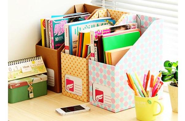 Коробки для хранения книг и журналов
