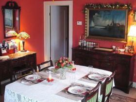 Организация обеденной зоны и зоны приема гостей
