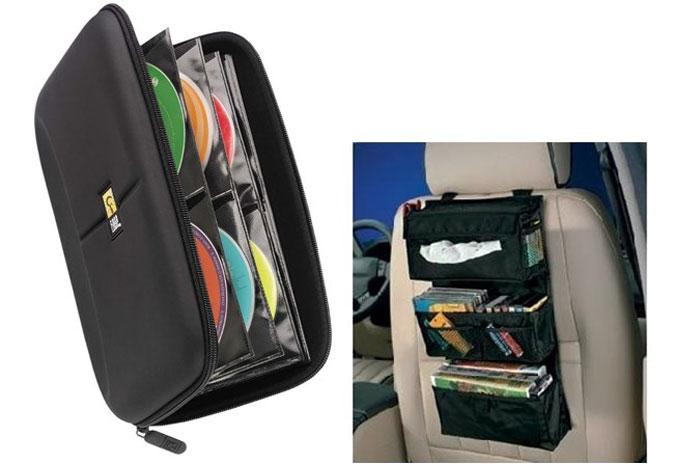 Хранение компакт дисков в кейсе и в машине