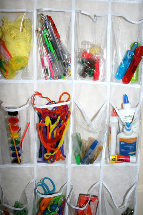 Хранение предметов для рисования
