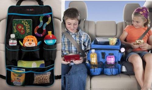 Детские кресла в машине