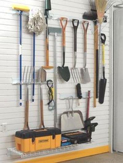 Хранение садовых инструментов