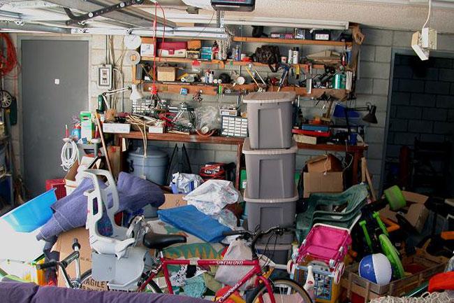 Бардак в гараже